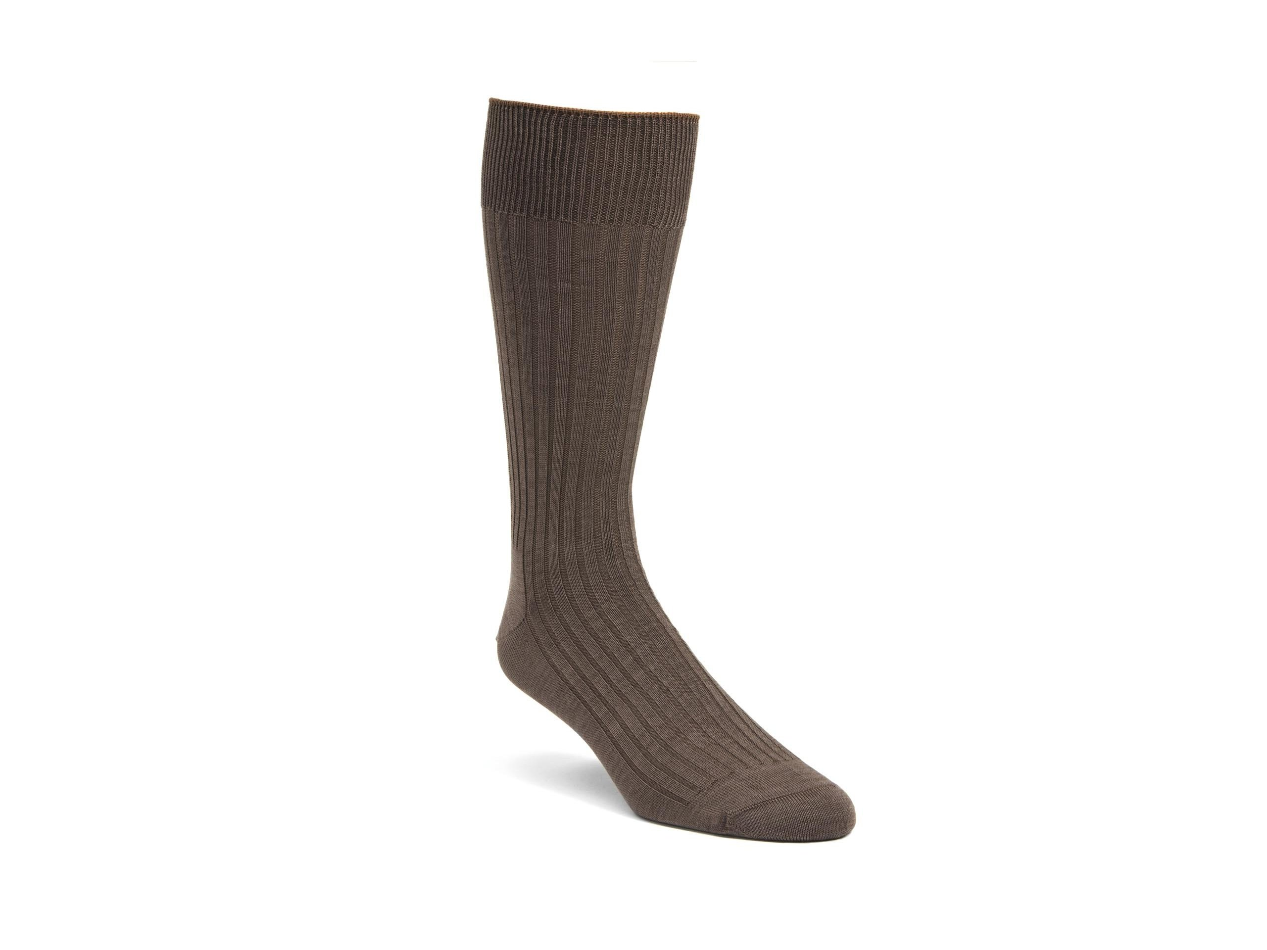 Product Shot of Casual Light Brown Socks