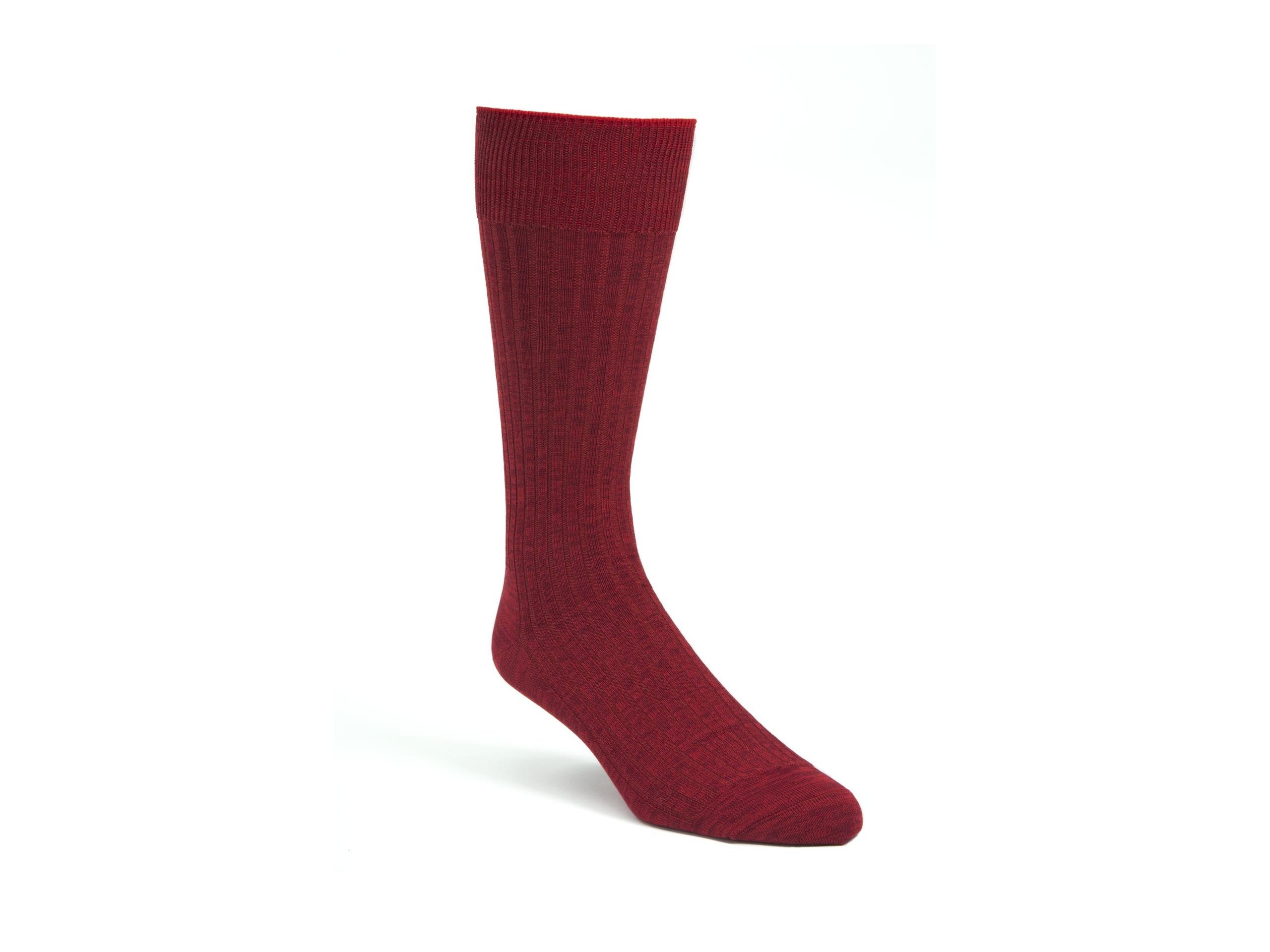 Product Shot of Casual Ruby Socks