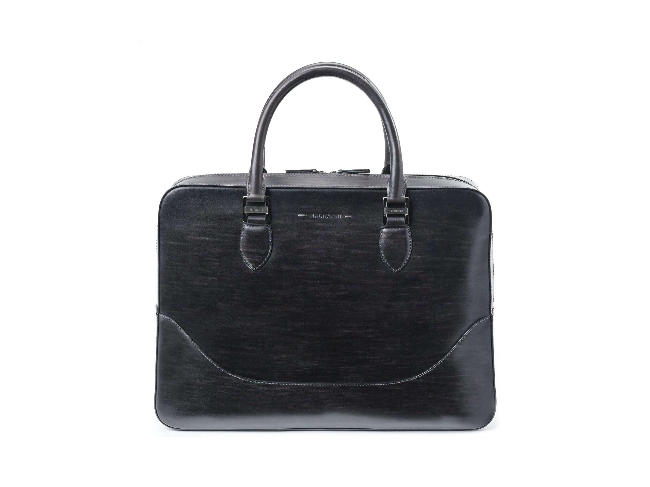 Side view of the Business Grey Bags