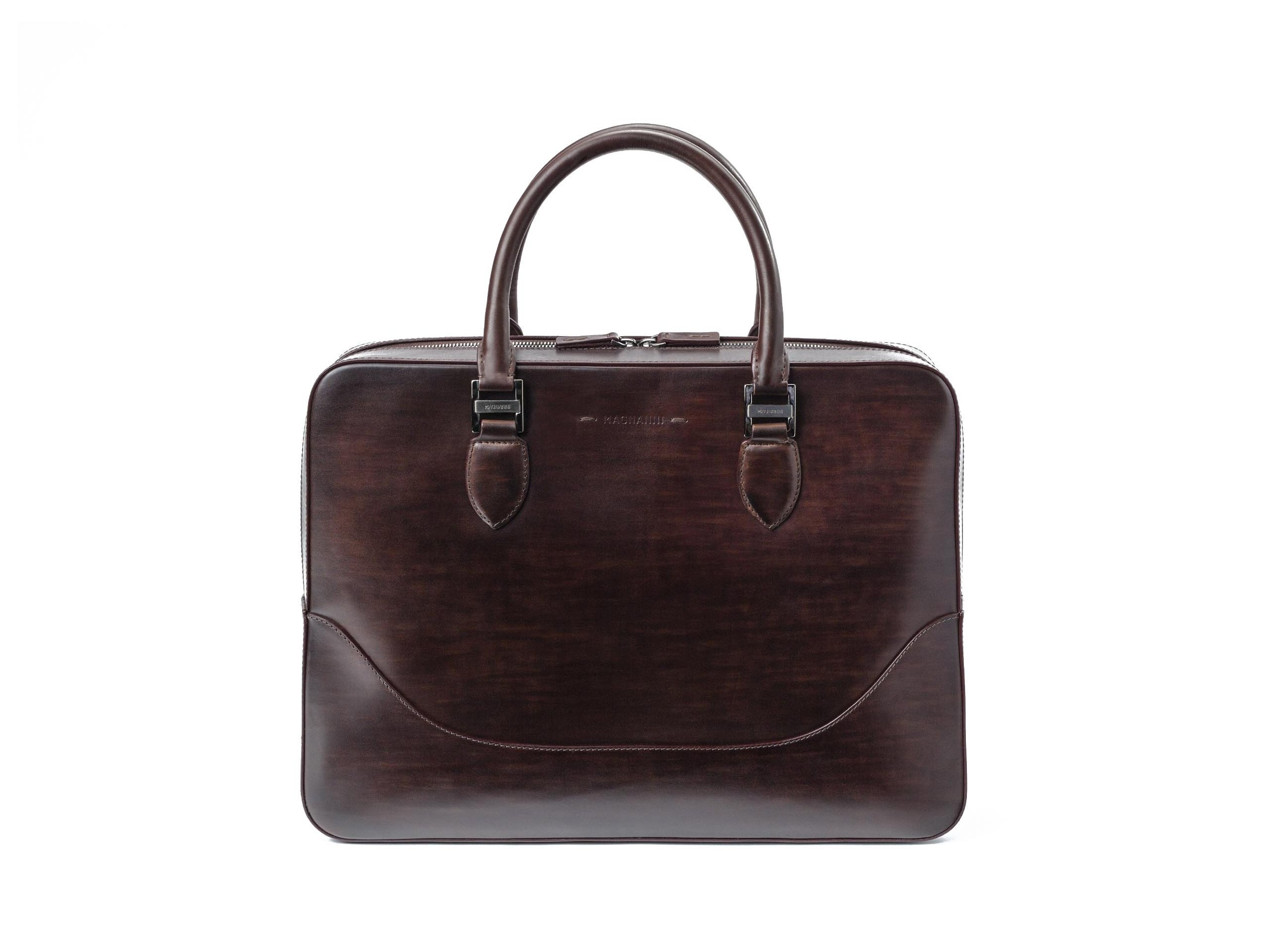 Product Shot of Business MidBrown Briefcase