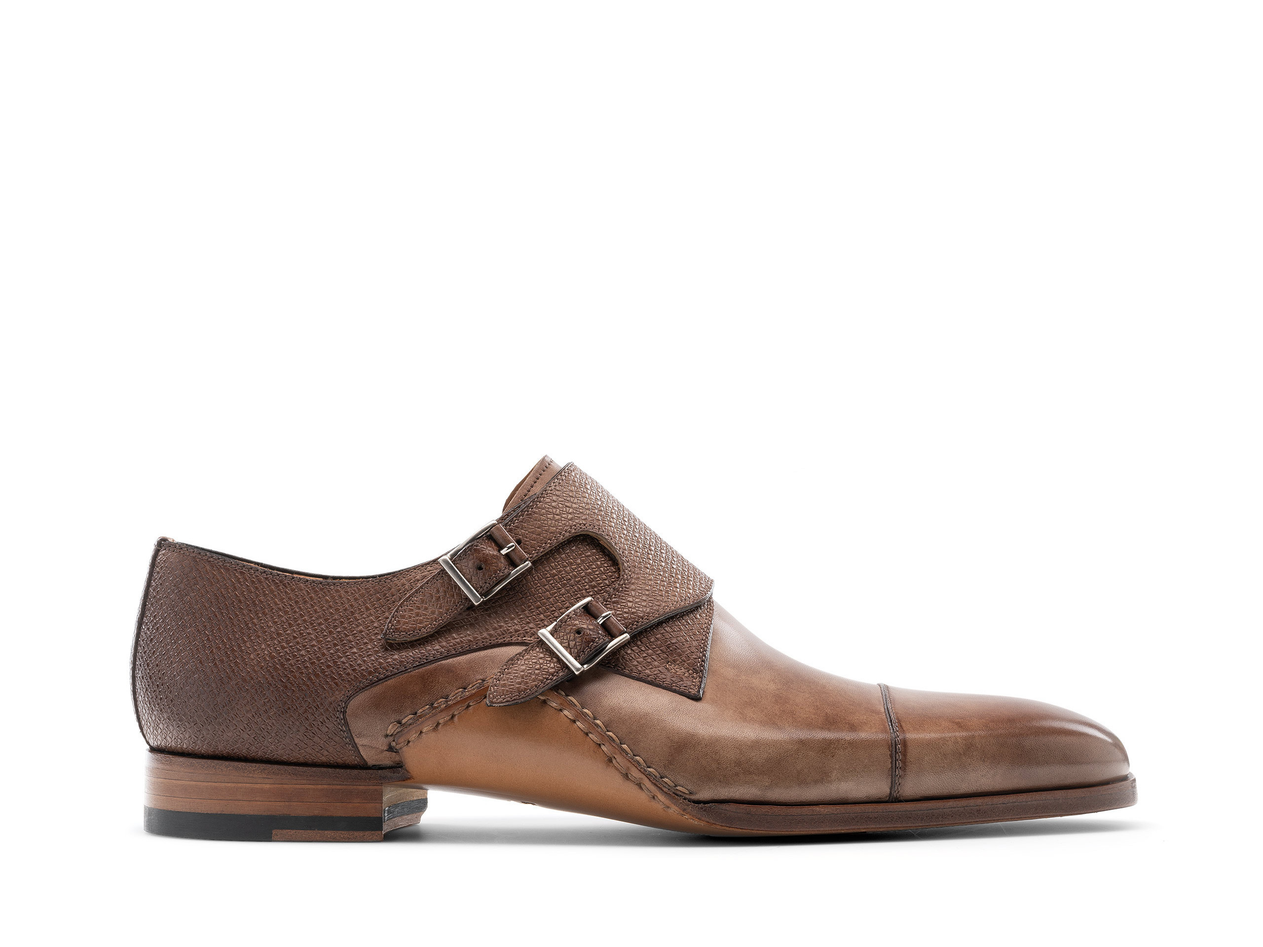 Side Profile of Ondara II Taupe Shoes