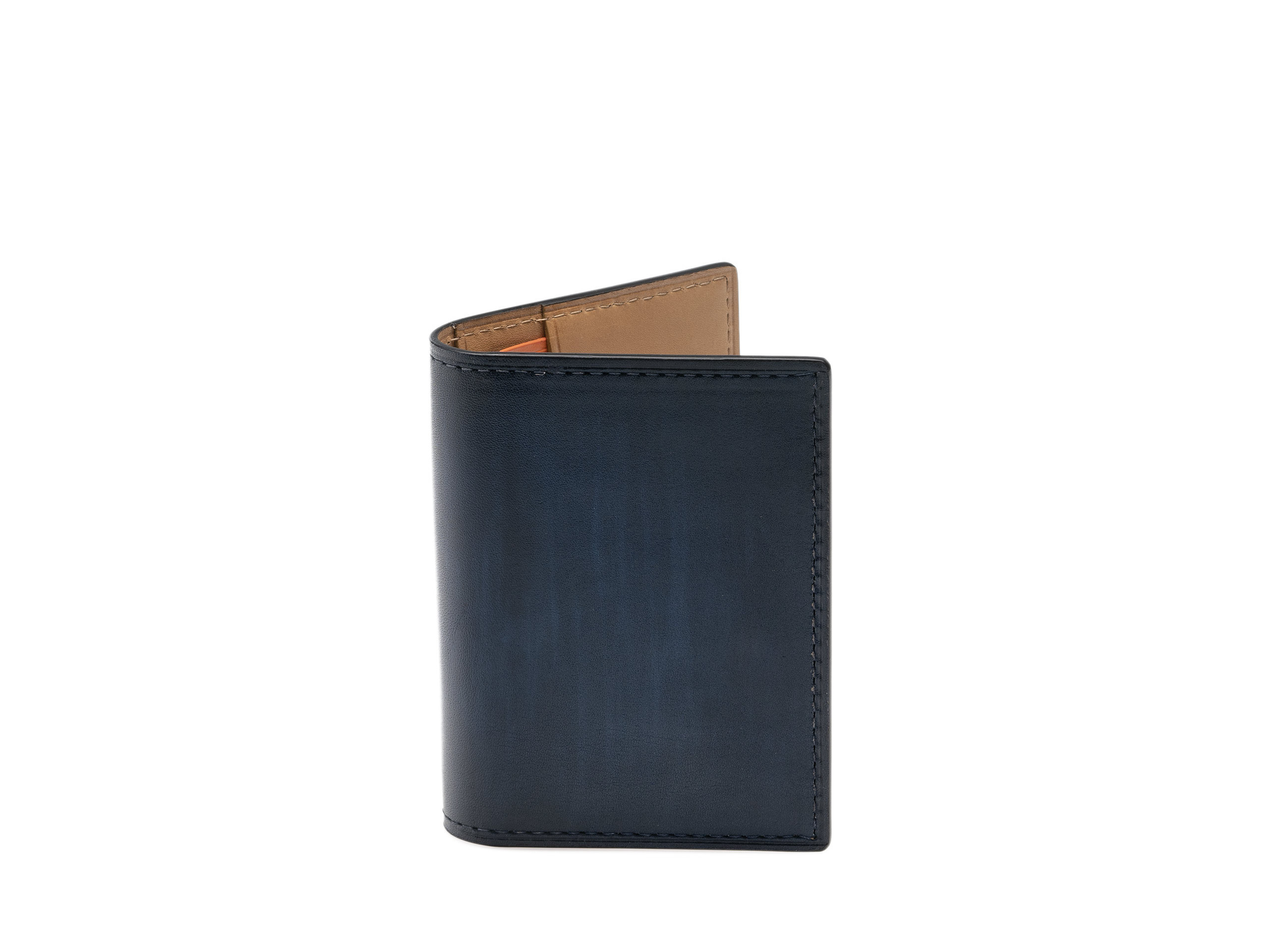 Front view of the Magnanni Card Fold Royal Men's Designer Wallets