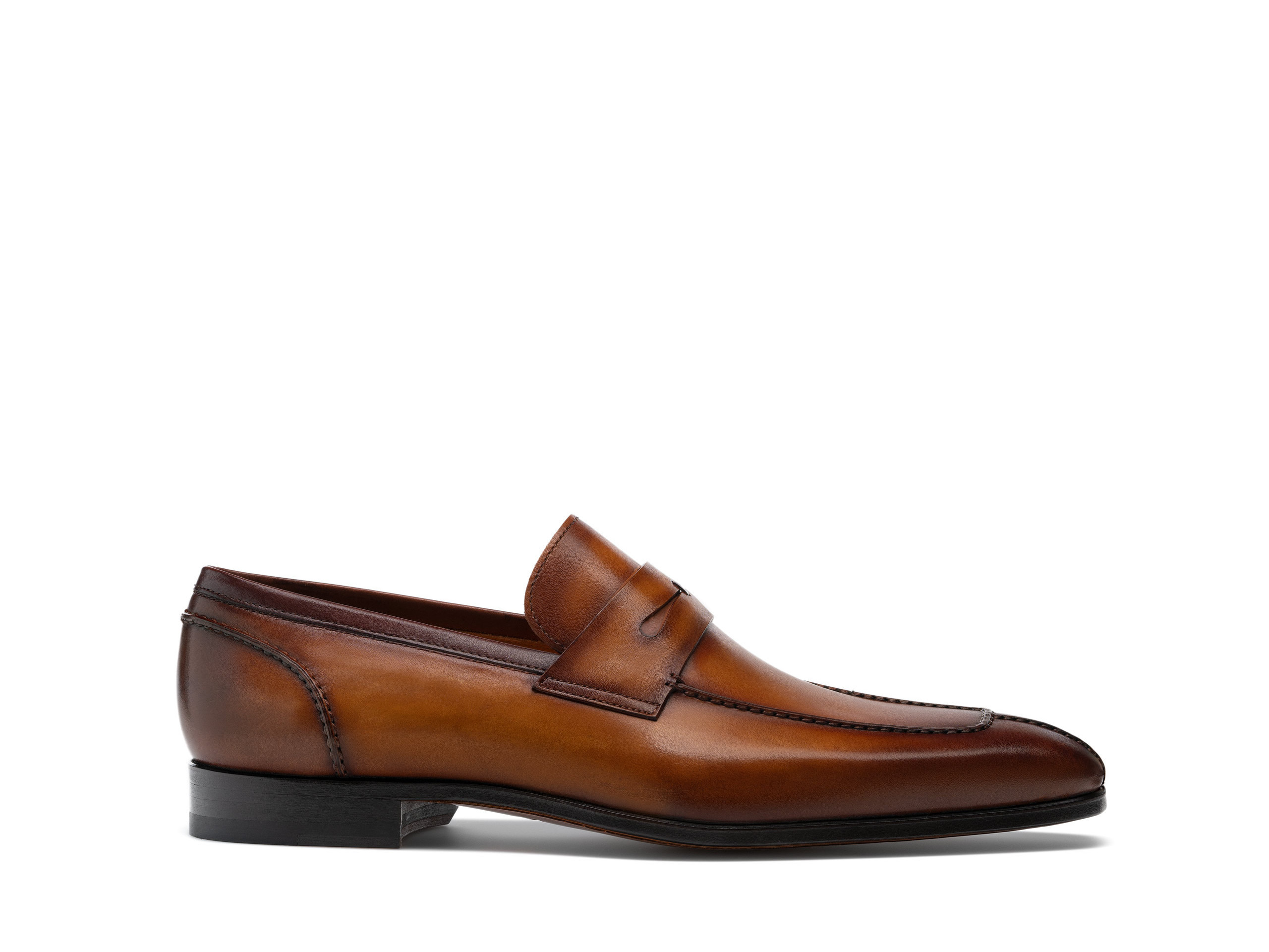 Side view of the Magnanni Coripe Cuero Men's Penny Loafers