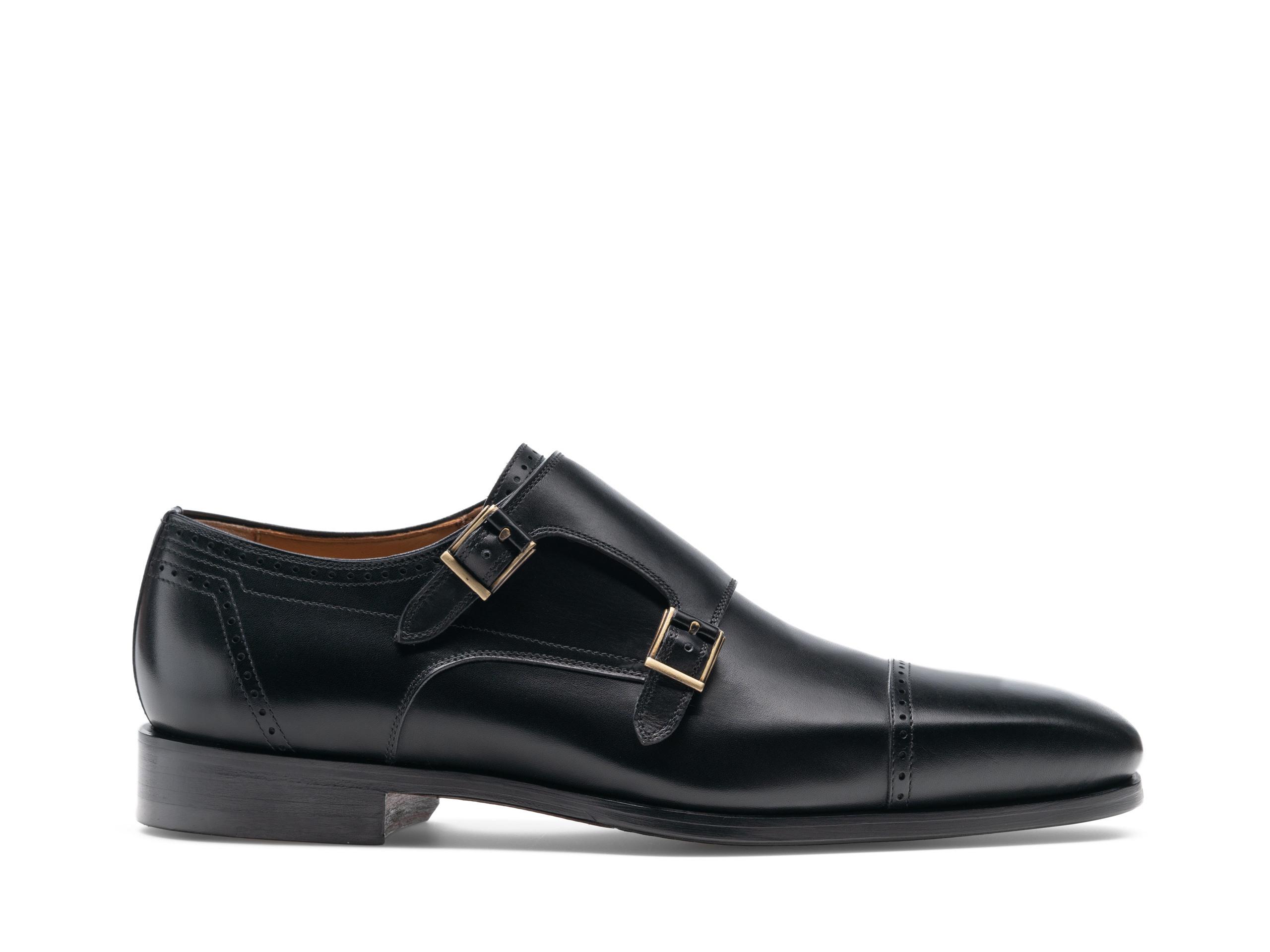 Magnanni Nalón Black Shoes