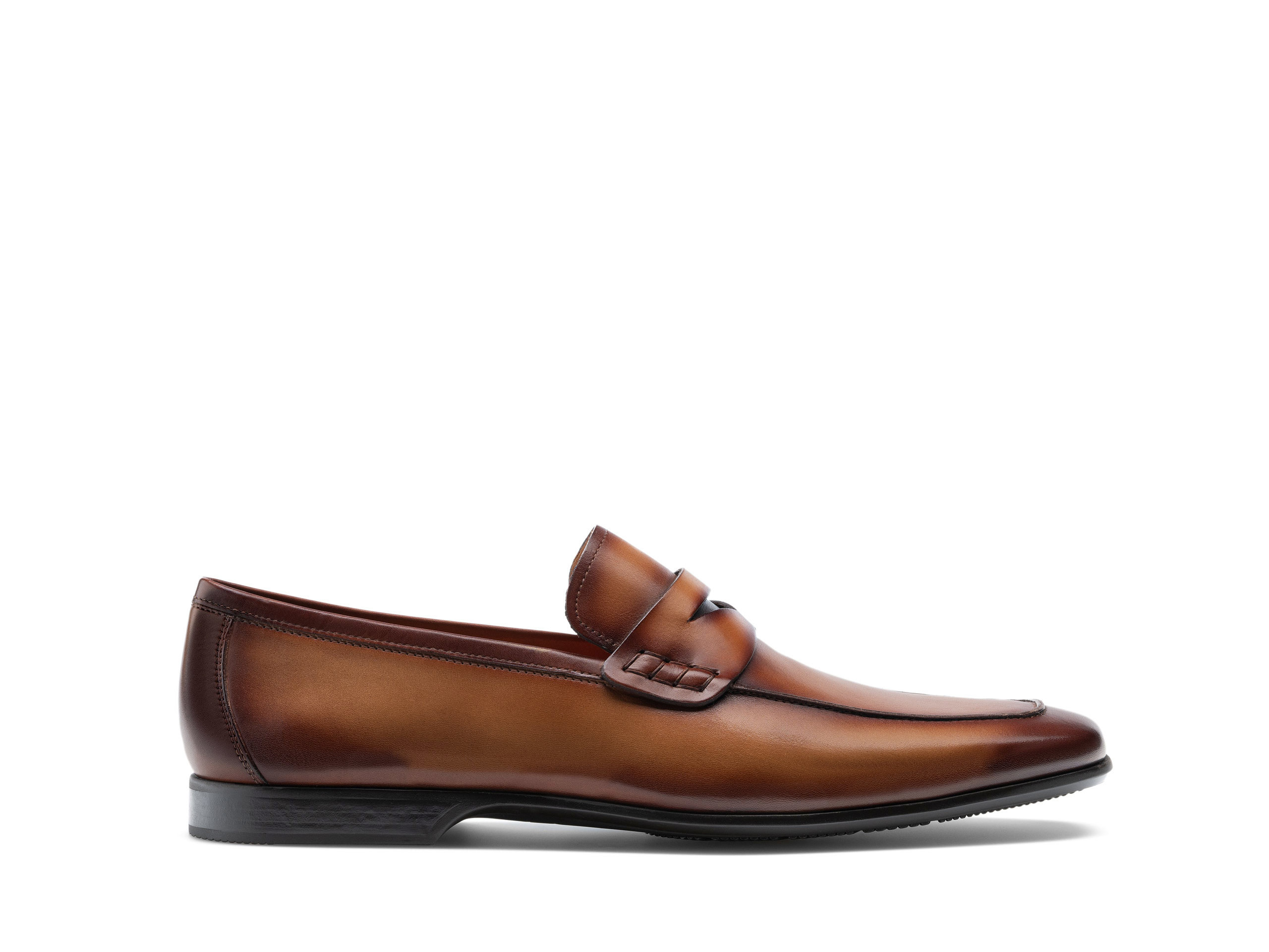 Side Profile of Ramiro II Tabaco Dress Shoes