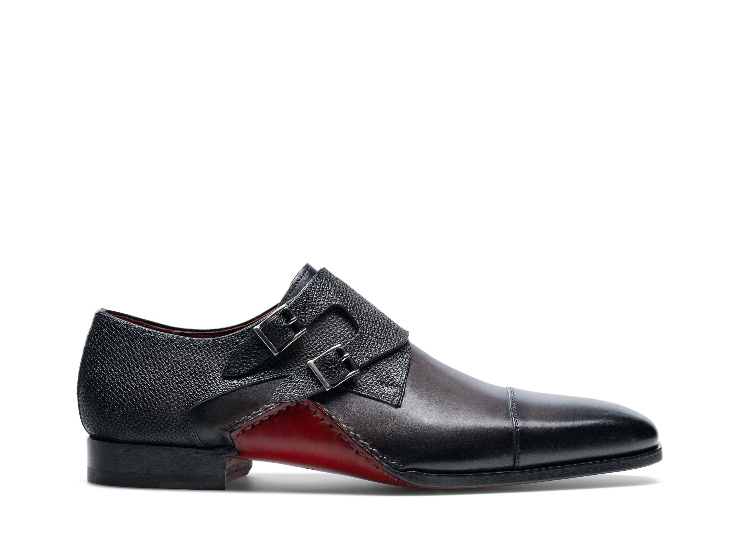 Side Profile of Ondara II Grafito Dress Shoes