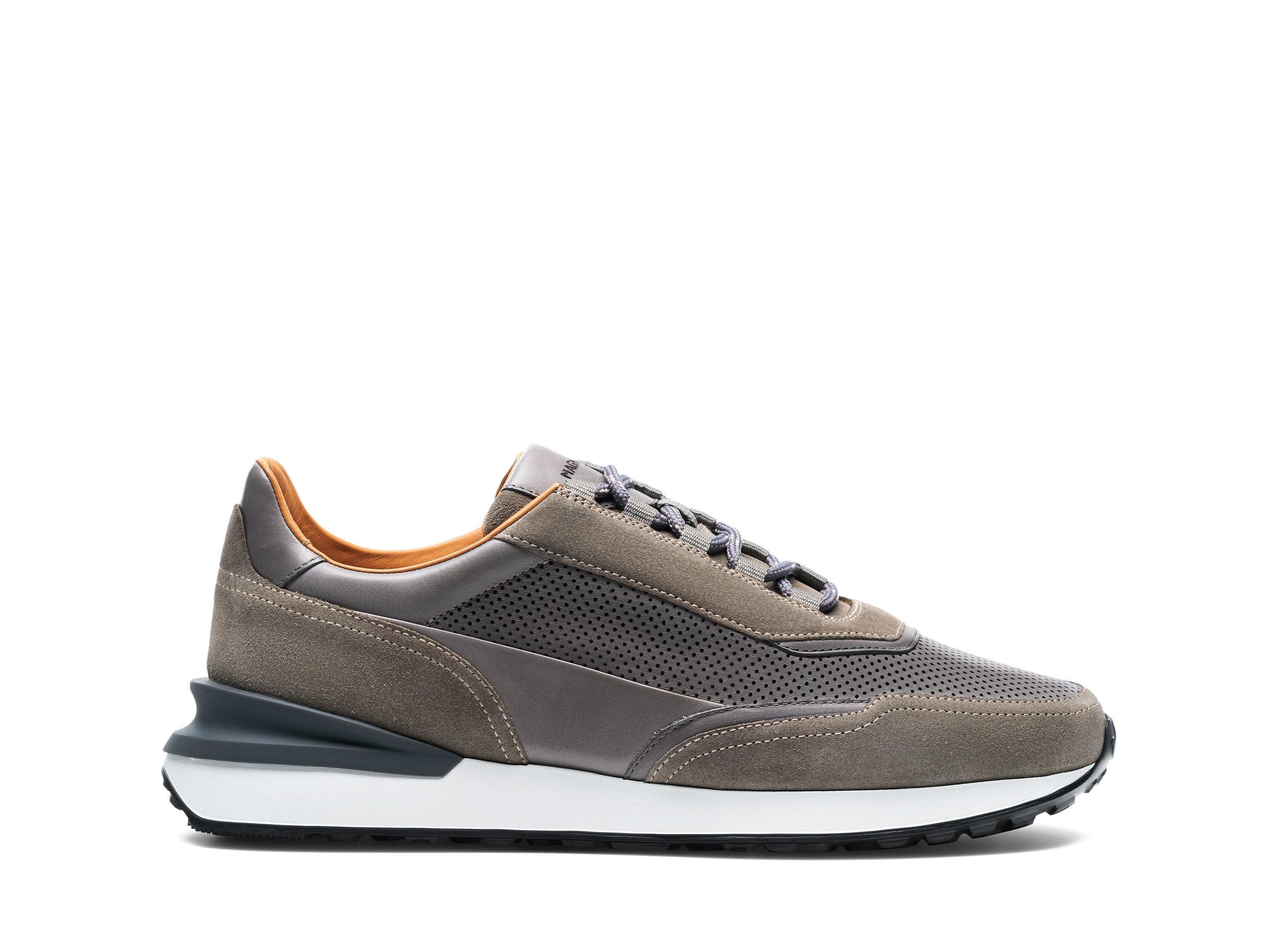 Side Profile of Siero Grey Sneakers