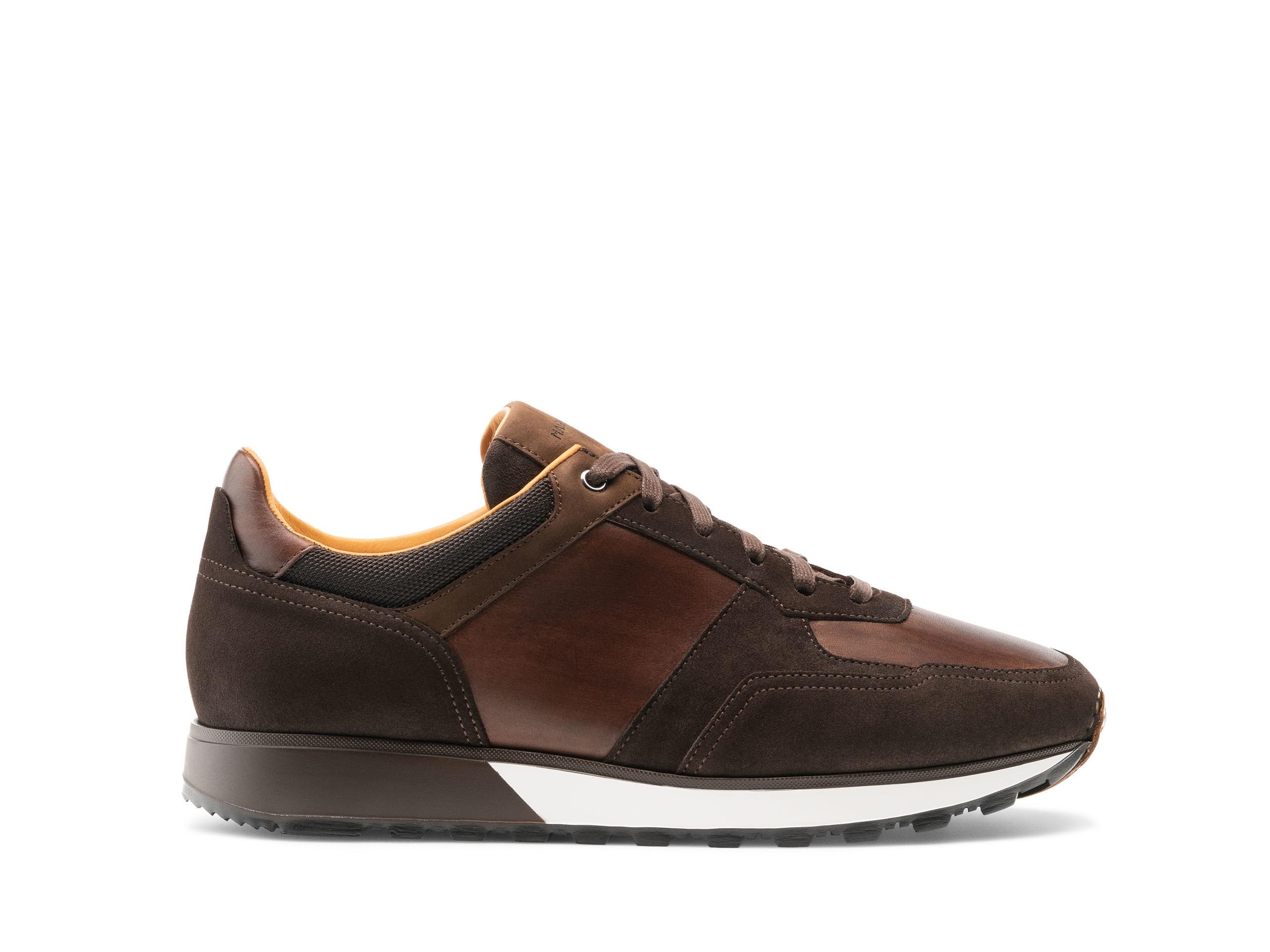 Side Profile of Rielo Brown Sneakers