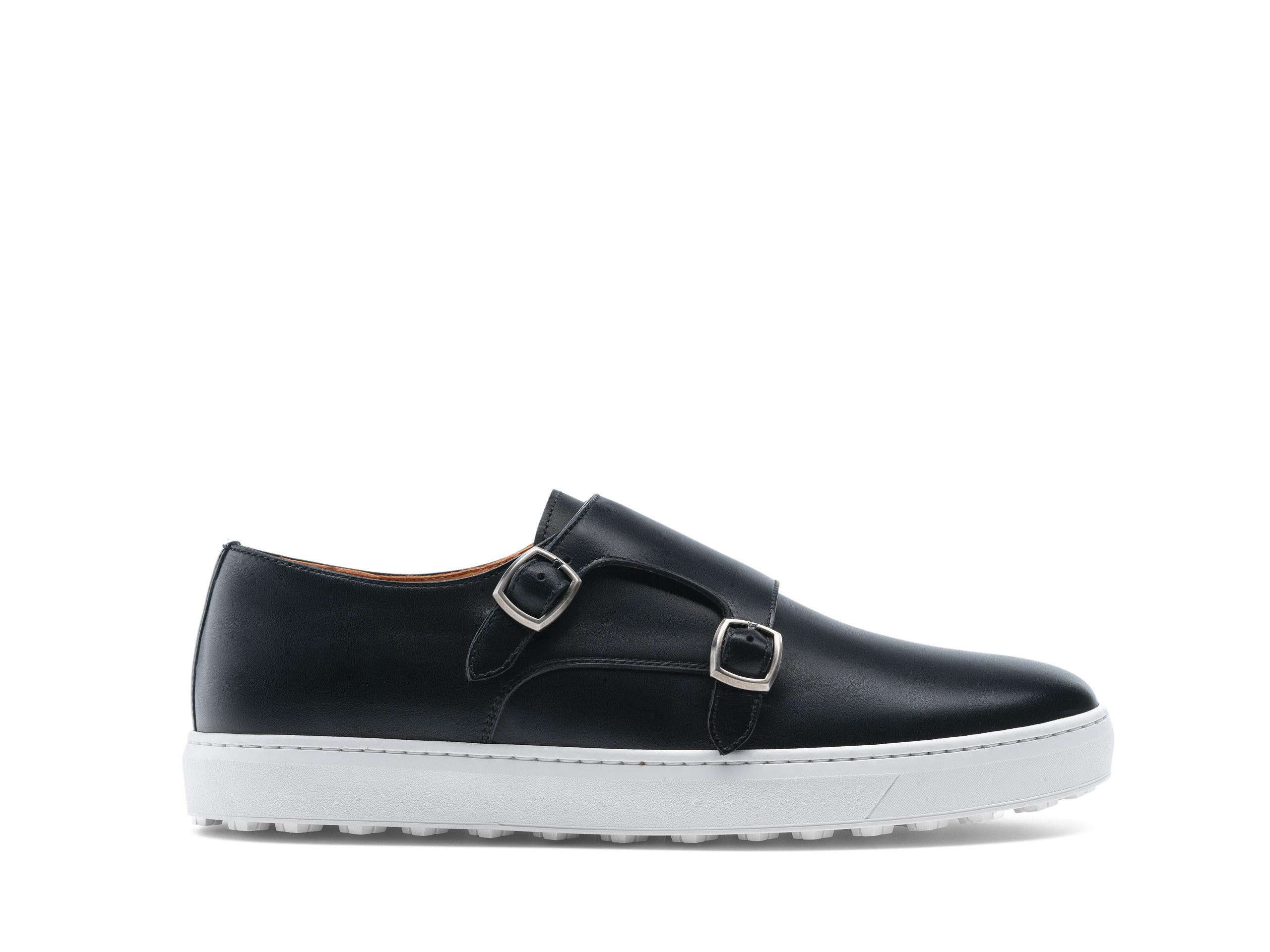 Heath Black Shoe Side Profile