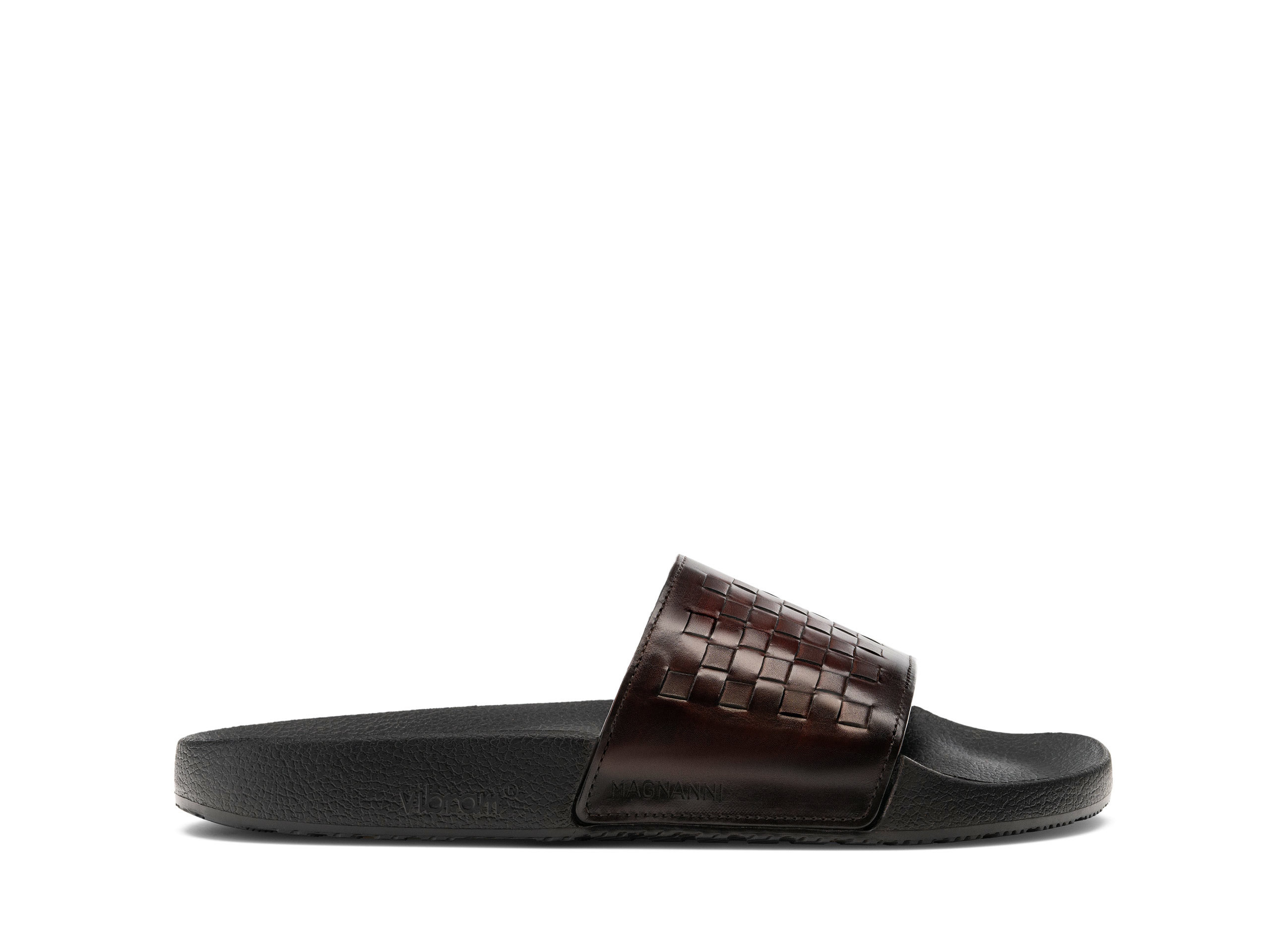 Magnanni Playa Woven Midbrown Shoes