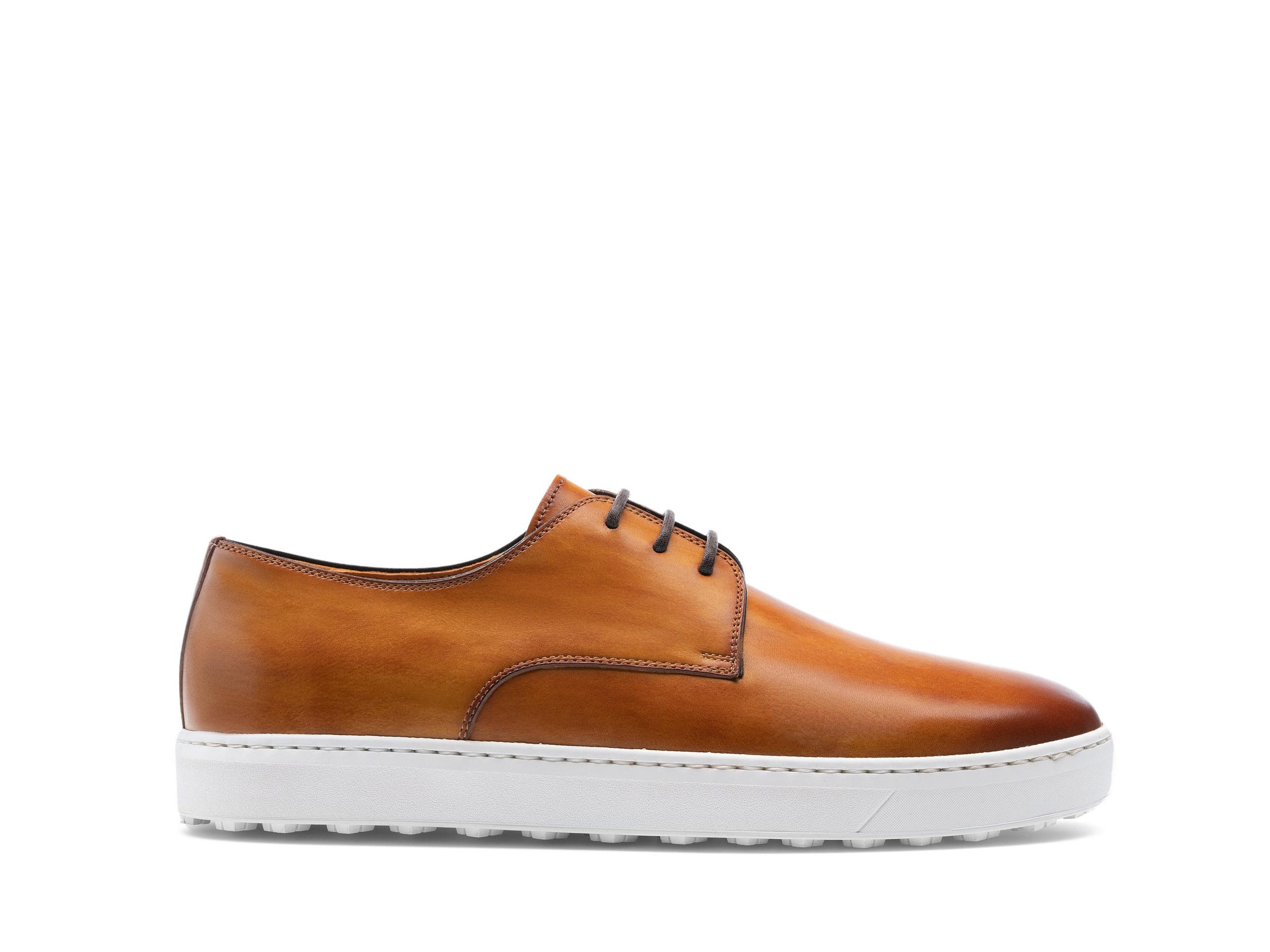 Side Profile of Nash Cuero Dress Sneakers